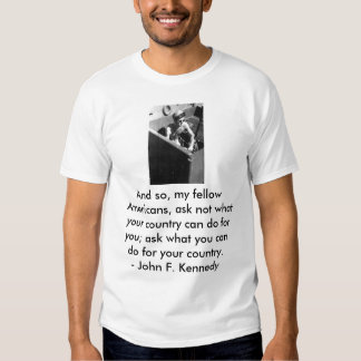 navaljfk, And so, my fellow Americans, ask not ... Tshirts