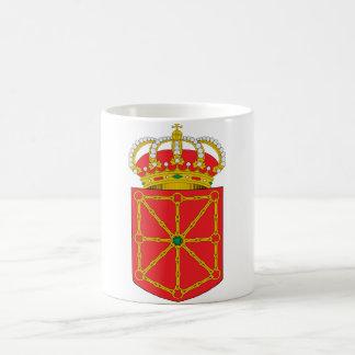Navarra (Spain) Coat of Arms Coffee Mug