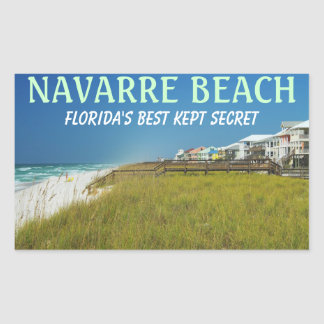 Navarre Beach Florida Stickers