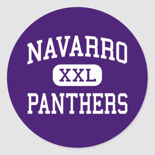Navarro - Panthers - High School - Seguin Texas Stickers