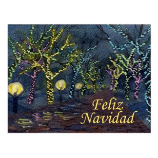 Navidad a la Calle Postcard