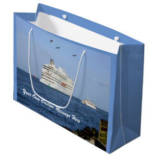 Navigating the Seas Personalized Large Gift Bag