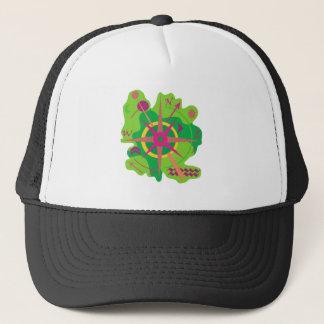 Navigation - green trucker hat