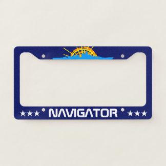 Navigator one-of-a-kind beautiful customizable licence plate frame