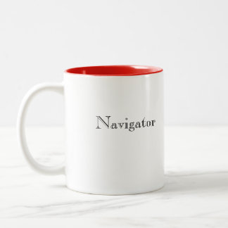 Navigator Two-Tone Coffee Mug