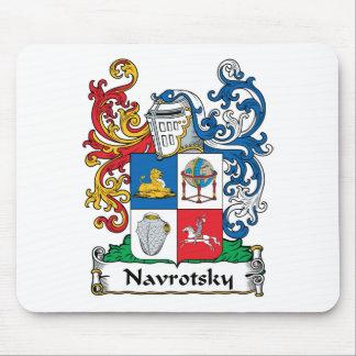 Navrotsky Family Crest Mouse Mats
