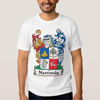Navrotsky Family Crest Shirts