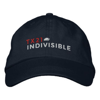 Navy Adjustable Cap Embroidered with Logo