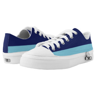 Navy and Sky Blue Two-Tone Lo-Top