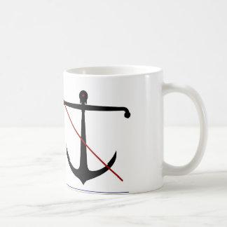 Navy 'Anti-Hipster' Anchor Mug/Beyond Gravity