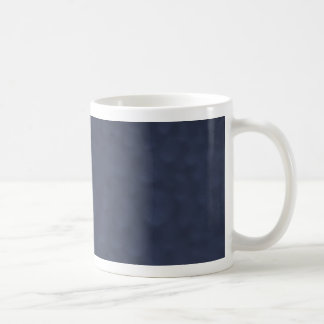 Navy Blue Bubbles Mug