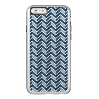 Navy Blue Chevron Pattern Incipio Feather® Shine iPhone 6 Case