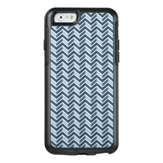 Navy Blue Chevron Pattern OtterBox iPhone 6/6s Case