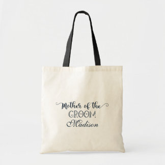 Navy Blue Hand Lettered Cute Mother of the Groom