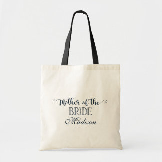 Navy Blue Hand Lettered Mother of the Bride