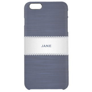 navy blue metal with diamonds and name
