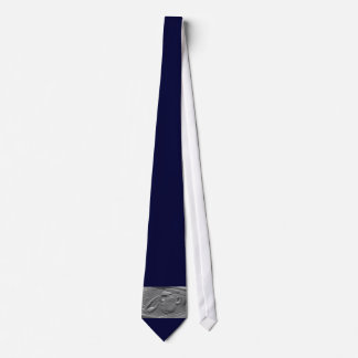 Navy Blue Military Honor Salute Military Tie