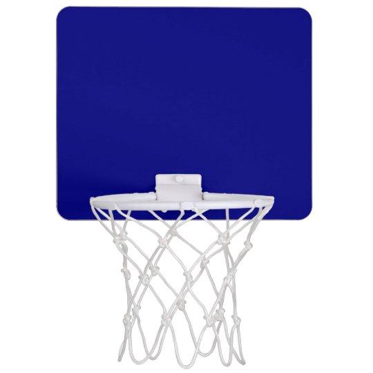 Navy Blue Mini Basketball Hoop