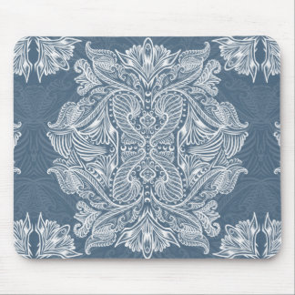 Navy Blue, Raven of mirrors, dreams, bohemian Mouse Pad