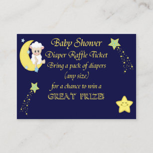 Star Diaper Raffle Tickets Gifts on Zazzle AU