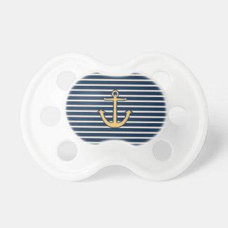 Navy Blue Stripes Anchor Dummy