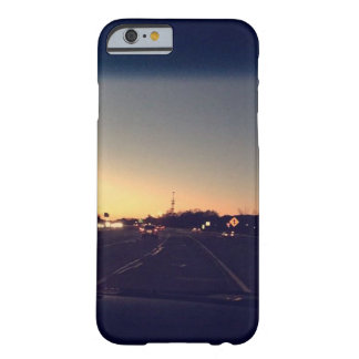 Navy blue sunset iPhone 6/6s case