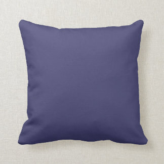 "Navy Blue Throw Pillow - ""Customisable"""