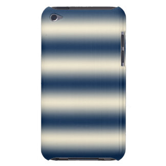 Navy blue to sandy yellow gradient iPod touch cover