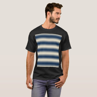 Navy blue to sandy yellow gradient T-Shirt