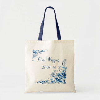 Navy Blue Budget Tote Bag