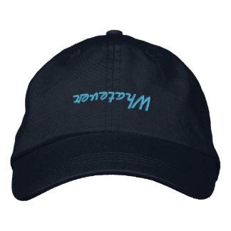 Navy Blue Whatever Baseball Hat