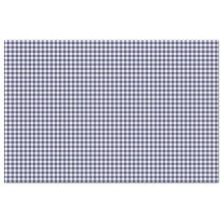 Navy Blue & White Gingham Pattern Tissue Paper