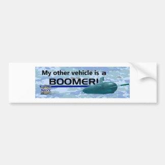 NAVY Bumper Sticker Boomer