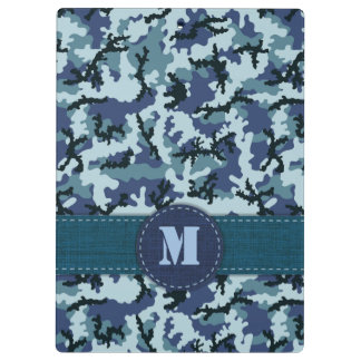 Navy camouflage clipboards