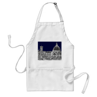 Navy cathedral Florence Standard Apron