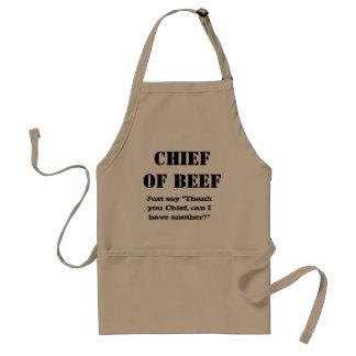 Navy Chief bbq grill apron