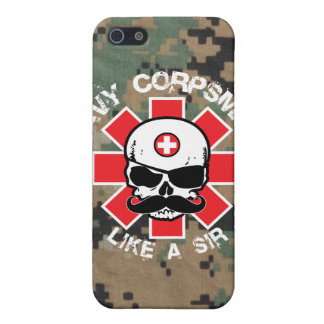 Navy Corpsman - Like A Sir iPhone 5/5S Cover