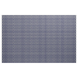 Navy/Cream Pi Fabric