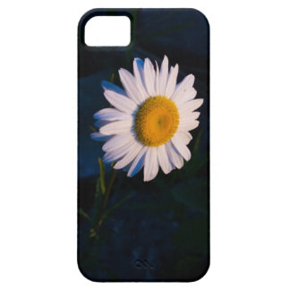 Navy Daisy Case For The iPhone 5