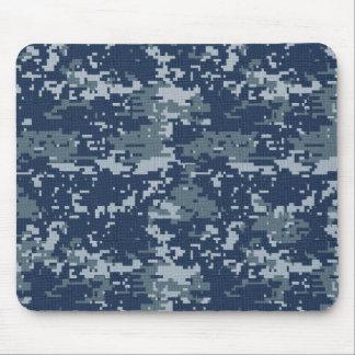 Navy Digital Camouflage Mousepad