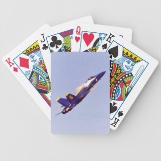 navy fighter blue angels poker deck