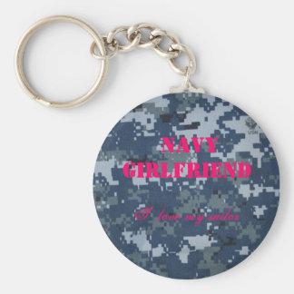 Navy Girlfriend, I  love my sailor Key Ring