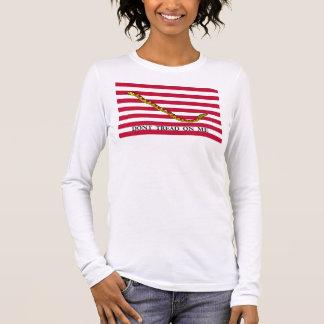 Navy Jack Flag - Dont Tread On Me Long Sleeve T-Shirt