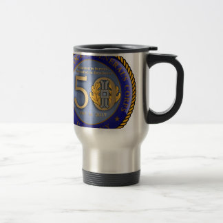 Navy JAG Corps 50th Travel Mug