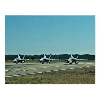 Navy Jets Postcard