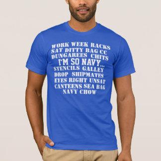 NAVY LINGO T-Shirt