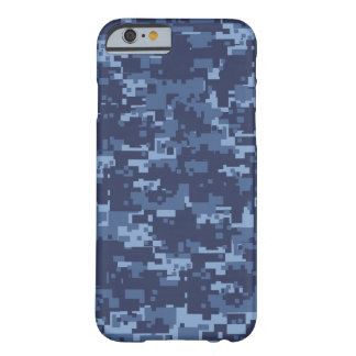 Navy NWM Blue Camouflage iPhone 6 Case