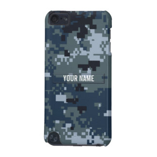 Navy NWU Camouflage Customizable iPod Touch 5G Cover