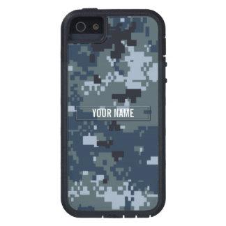 Navy NWU Camouflage Customizable iPhone 5 Case