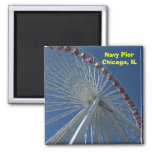 Navy Pier Ferris Wheel Magnet